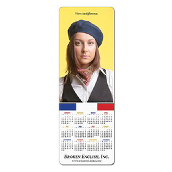 """Personalized Magnet - 3.5"""" x 10"""" Square Corners - Outdoor Safe"""