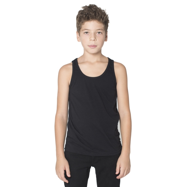 Printed Youth Poly-Cotton Tank