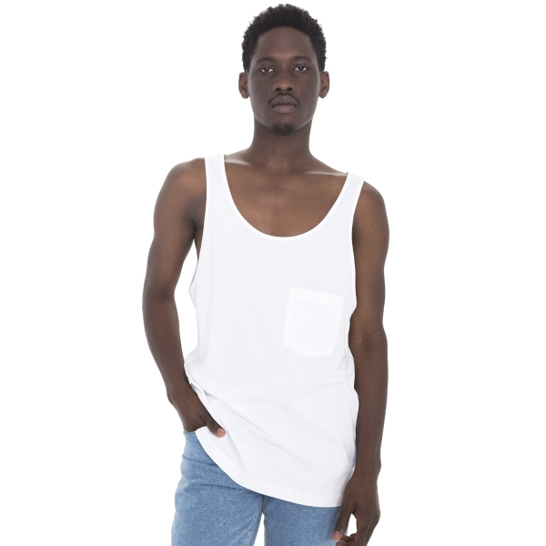Promotional Unisex Big Pocket Tank