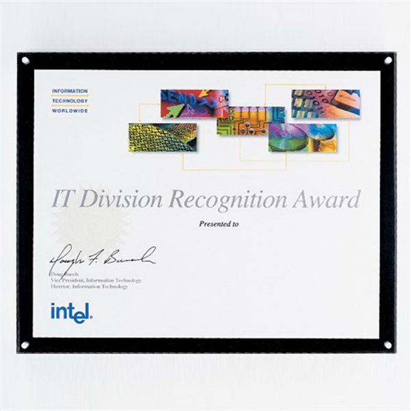 Printed Frame-It (R) Plaque