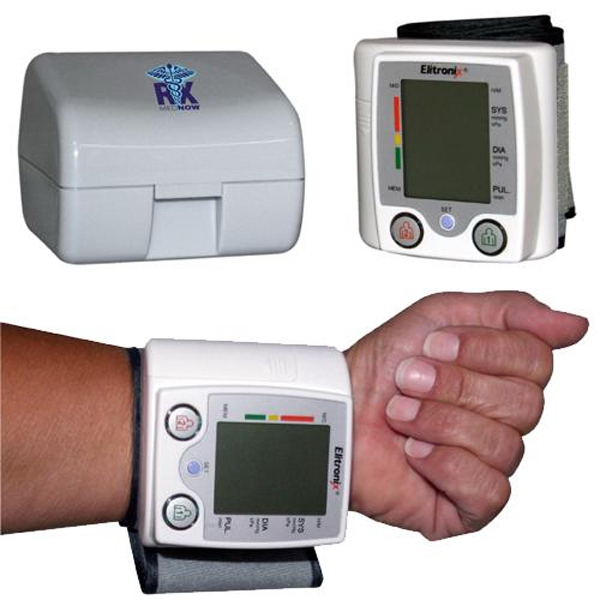 Customized Talking Wrist Style Blood Pressure Monitor