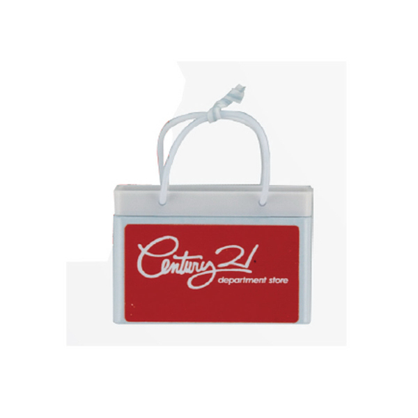 Imprinted Bag Mint Tin with Sugar-Free Mints