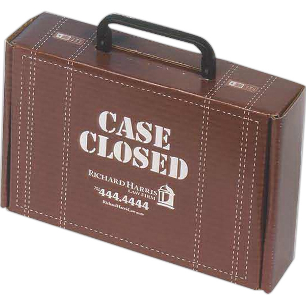 Promotional Box With Hinged Handle