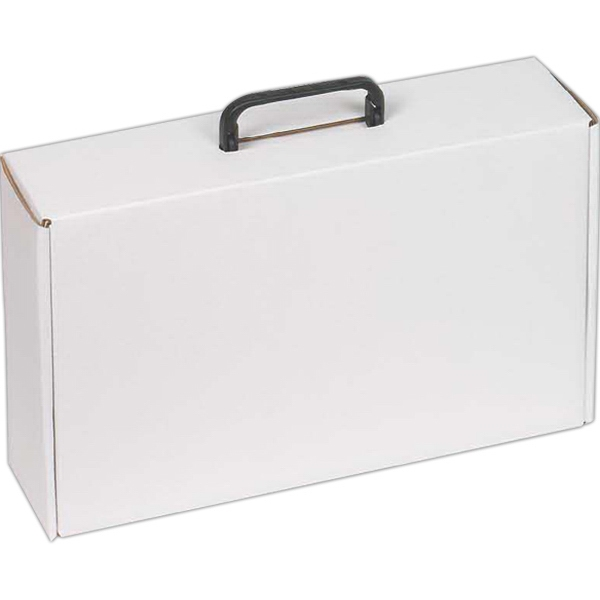 Customized Box With Hinged Handle