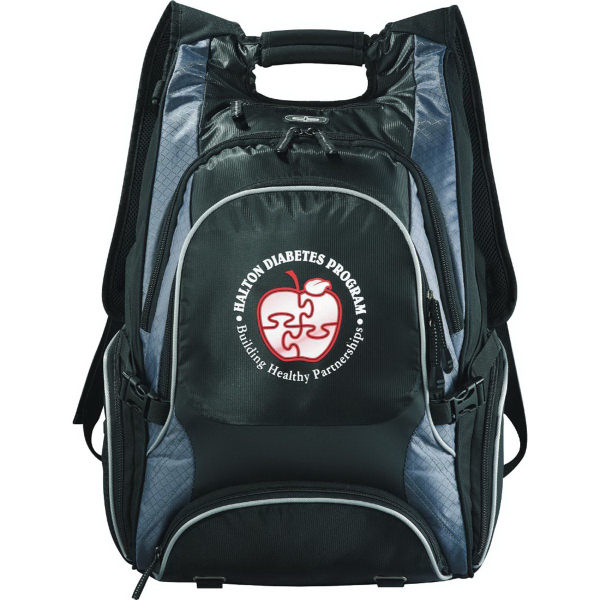 Printed Elleven (TM) Drive Checkpoint Friendly Compu-Backpack