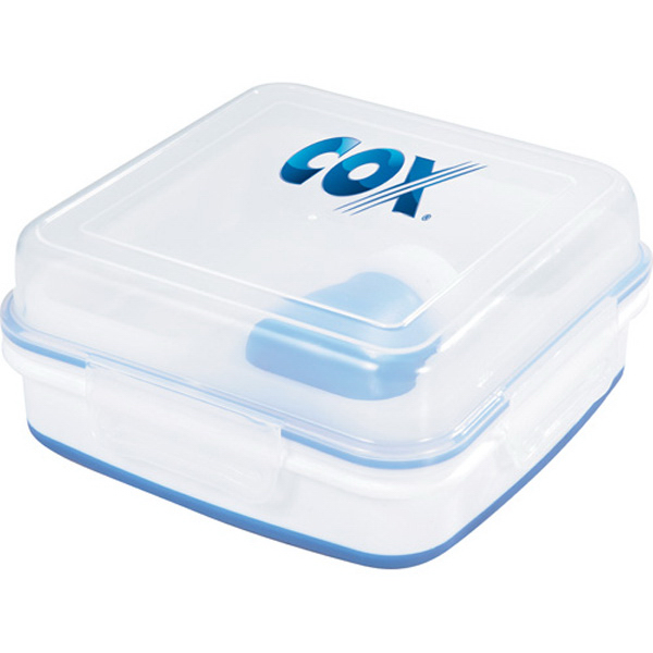 Printed Cool Gear (R) Collapsible Salad To Go Set