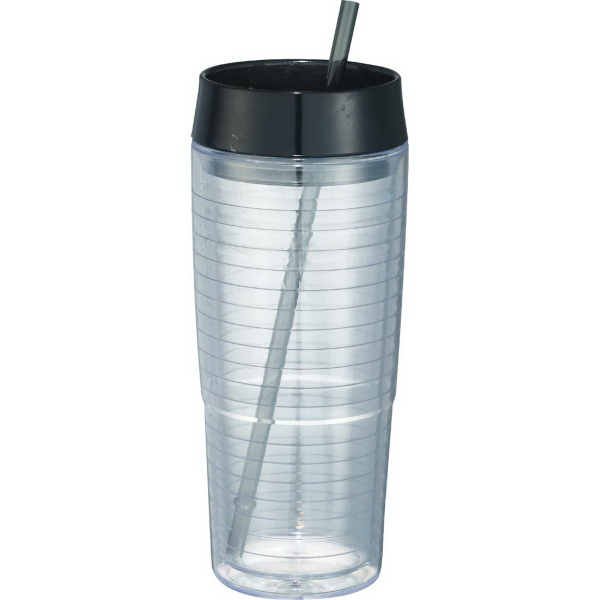 Promotional Hot & Cold Swirl Double-Wall Tumbler 20 oz