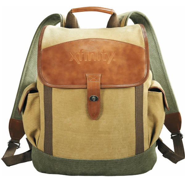 Customized Cutter & Buck (R) Legacy Cotton Rucksack Backpack