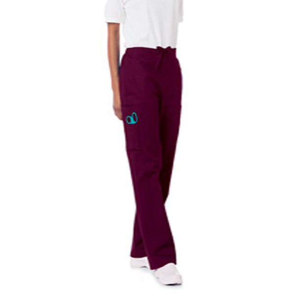 Customized SA8512 Landau Women's Cargo Drawstring Pant