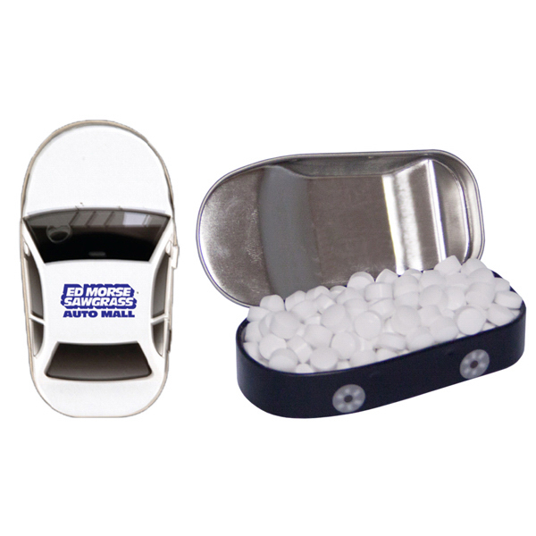 Customized Car Mint Tin with Sugar-Free Mints