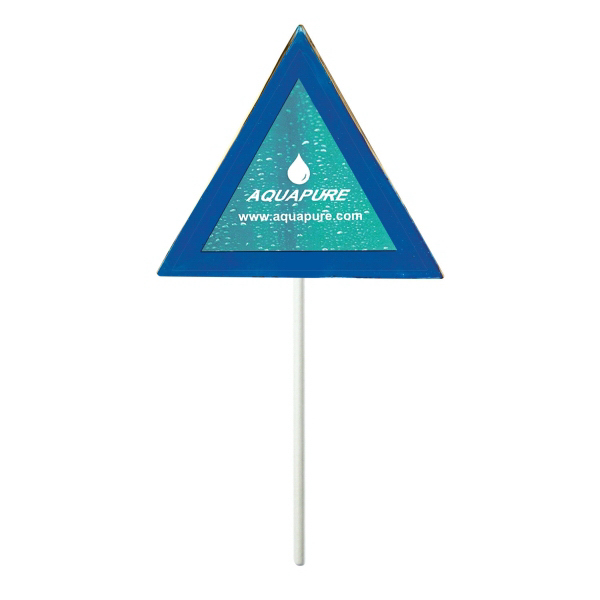 Printed Triangle Lollipop