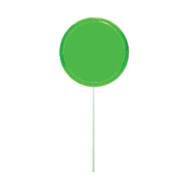 Personalized Green Octagon Lollipop
