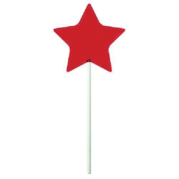 Printed Star Lollipop