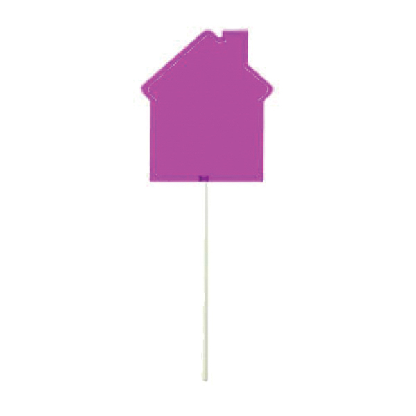 Promotional Pink House Lollipop