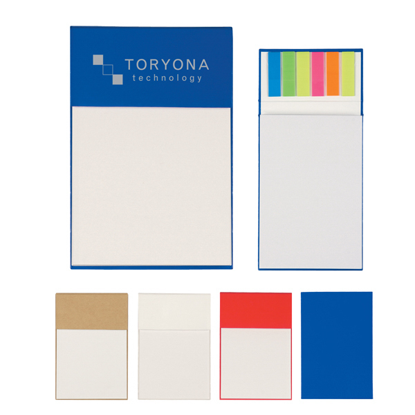 Customized Jotter Pad With Sticky Flags