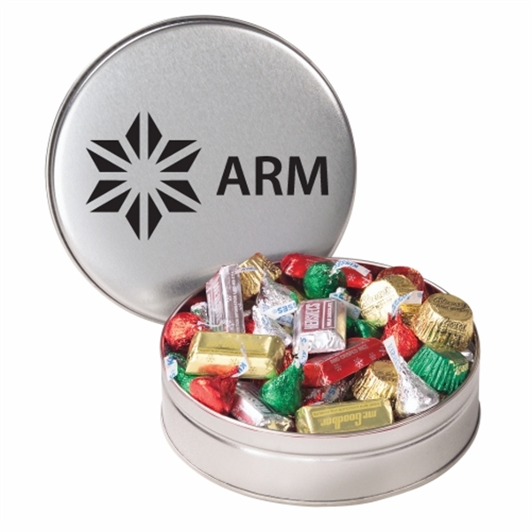 Personalized Hershey's (R) Holiday Mix / Small Tin