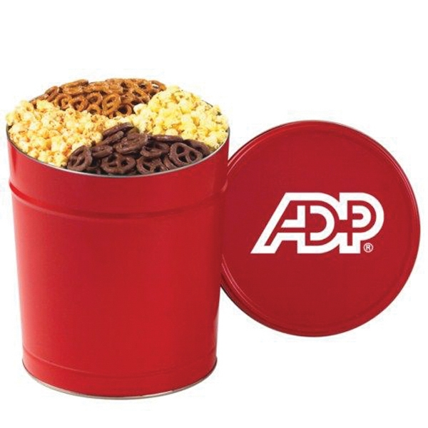 Printed Ultimate Snack Tin / 3.5 Gallon Tin