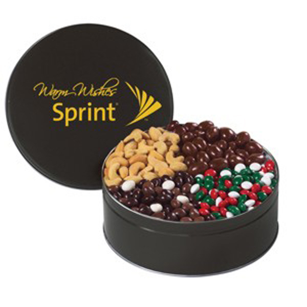 Personalized 4 Way Treat Tin / Extra Large