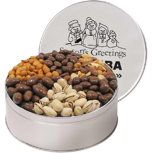 Imprinted 6 Way Gourmet Treat Sampler / Extra Large