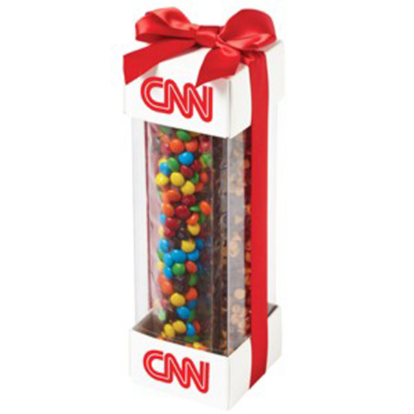 Printed Executive Treat Container / Chocolate Covered Pretzel Rods