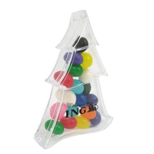 Imprinted Holiday Candy Container