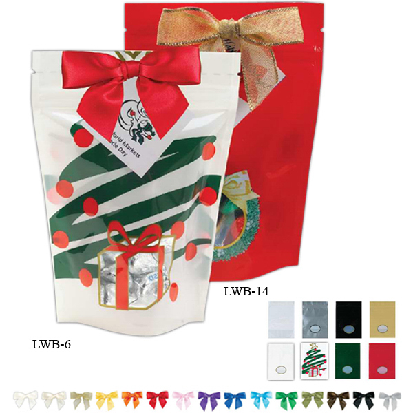 Customized Large Window Bag / Hershey's (R) Holiday Mix