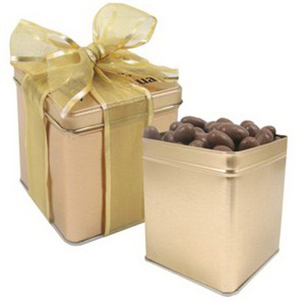Promotional Perfect Present Tin / Chocolate Almonds