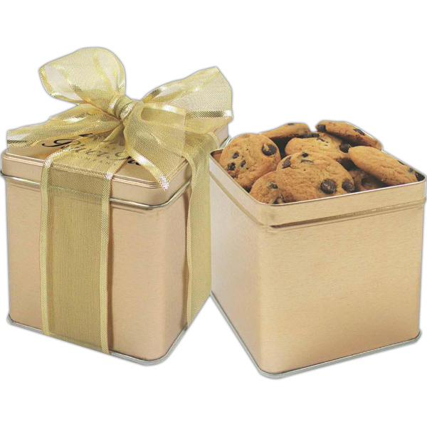 Personalized Perfect Present Tin / Mixed Nuts