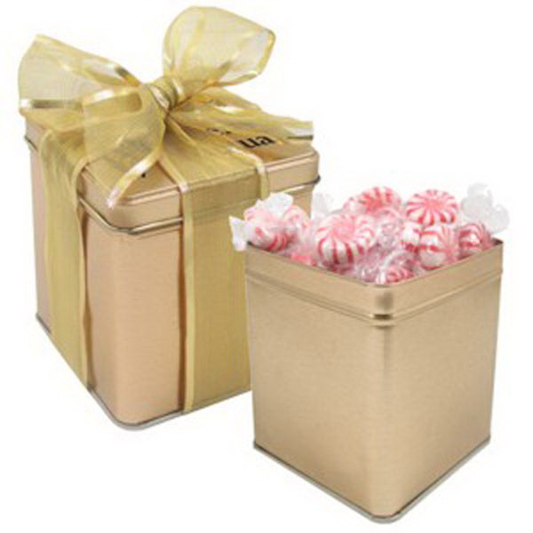 Personalized Perfect Present Tin / Starlight Mints