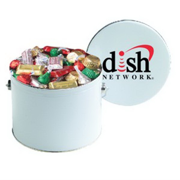 Printed Hershey's (R) Holiday Mix / Half Gallon Tin