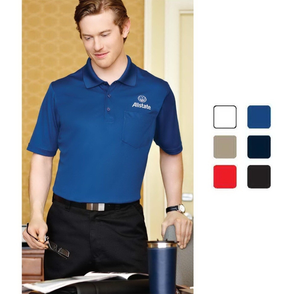 Promotional Pico short sleeve polo with pocket