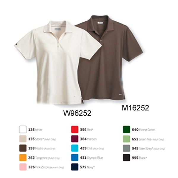 Customized Moreno short sleeve polo