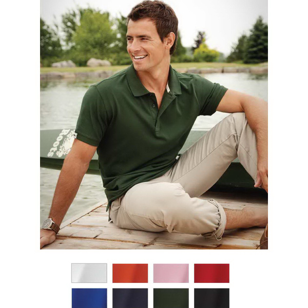 Custom Mapleton Short Sleeve Polo
