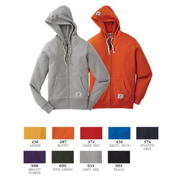 Personalized Brockton Fleece Full Zip Hoody