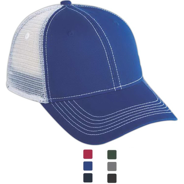 Promotional Matrix vintage twill mesh back cap