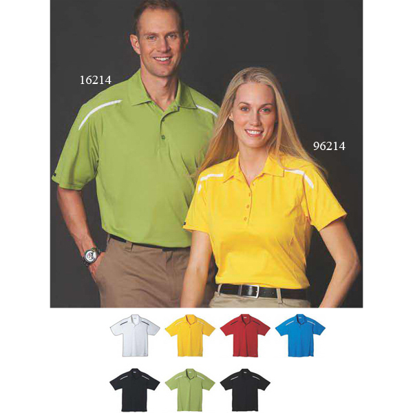 Custom Nyos short sleeve polo