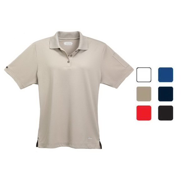 Customized Pico short sleeve polo with pocket