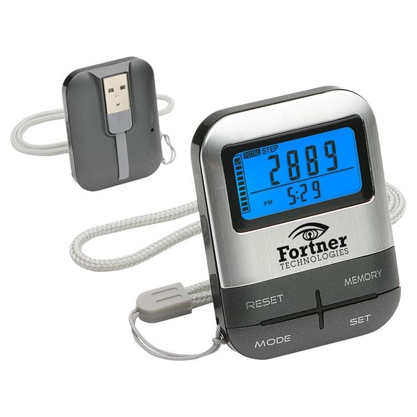 Personalized INFO Source USB Memory Pedometer