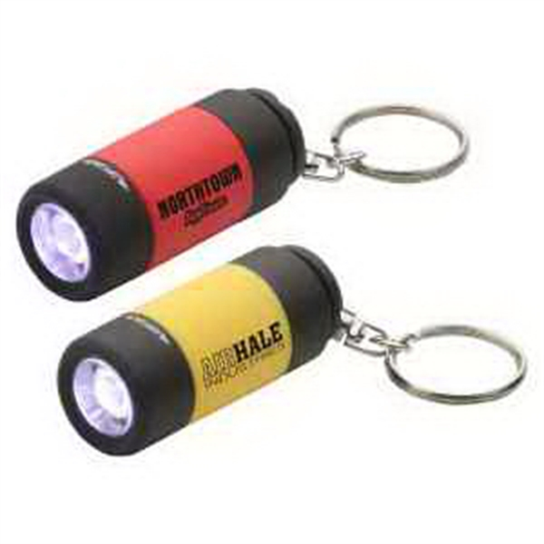 Personalized Twist Light LED Key Chain