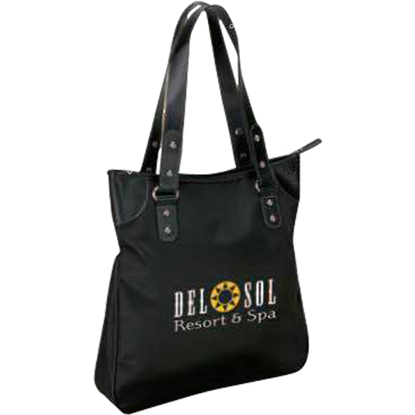 Personalized Microfiber Tote Bag