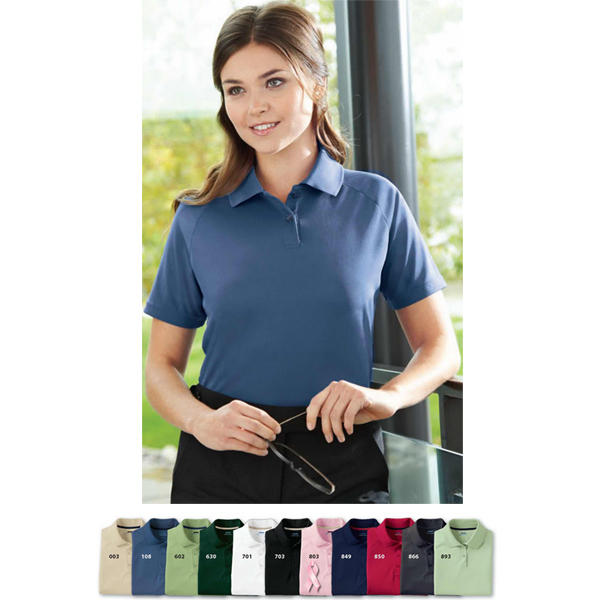 Imprinted Ladies' Extreme Eperformance (TM) Pique Polo