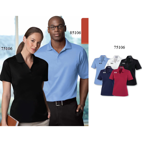 Imprinted Ladies' Extreme Edry (R) Silk Luster Jersey Polo