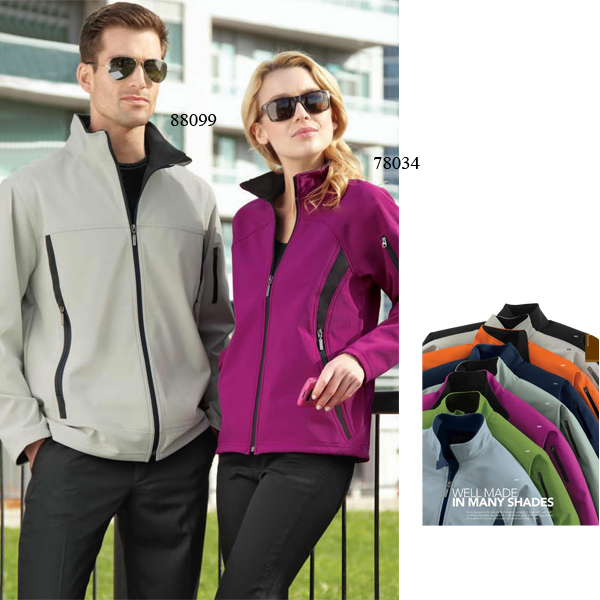 Promotional Ladies' North End (R) Fleece Bonded Soft Shell Jacket