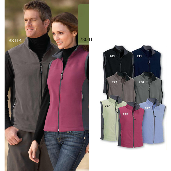 Promotional Ladies' North End (R) Microfleece Vest