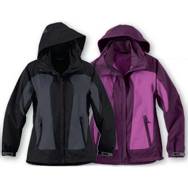 Custom Ladies' North End (R) 3-in-1 Seam Sealed Mid Length Jacket