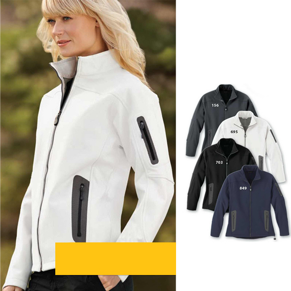 Promotional Ladies' North End (R) 3 Layer Soft Shell Technical Jacket