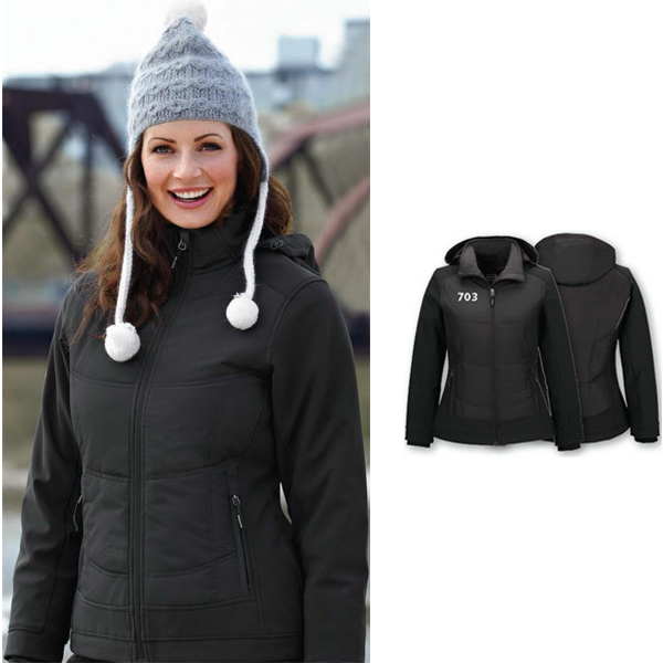 Promotional Ladies' North End Sport (R) Insulated Soft Shell Jacket