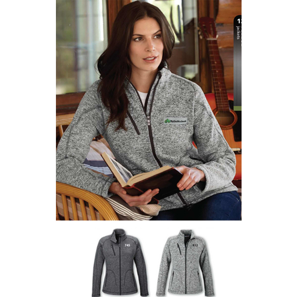 Printed Ladies' North End Sport (R) Peak Sweater Fleece Jacket