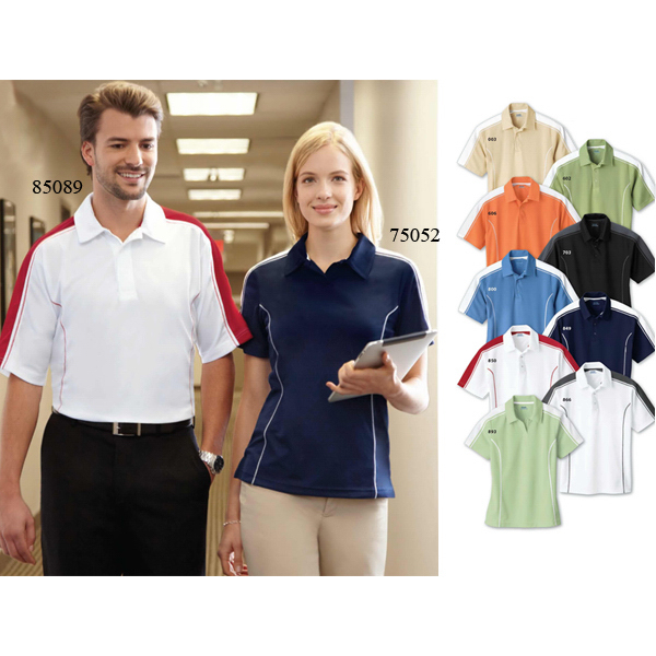 Customized Men's Extreme Eperformance (TM) Pique Color-Block Polo