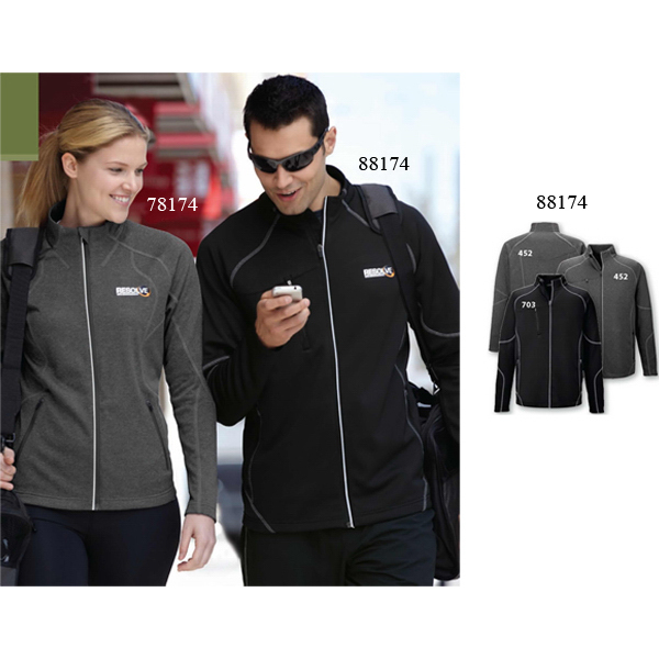 Imprinted Men's North End (R) Gravity Performance Fleece Jacket
